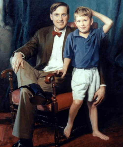 Mr. Charles Mayfield And Son Dylan
