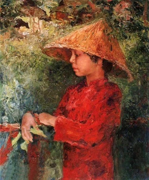Portrait Of Daughter Zena
