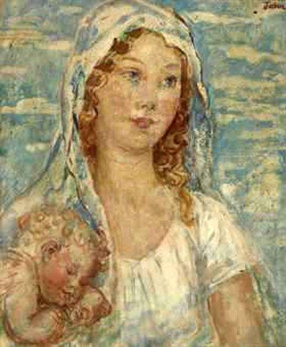 Portrait Of Grace As A Madonna