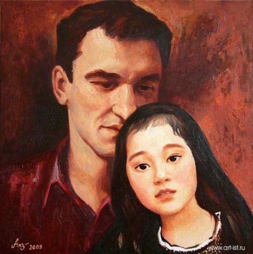 Portrait Of Nicolay And Zoya