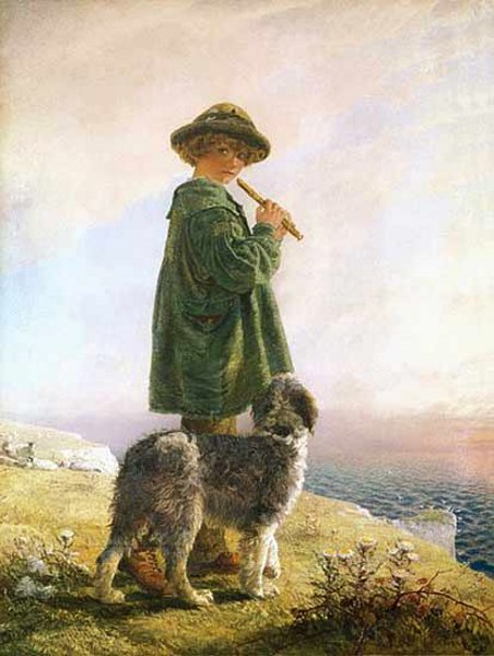The Piping Shepherd