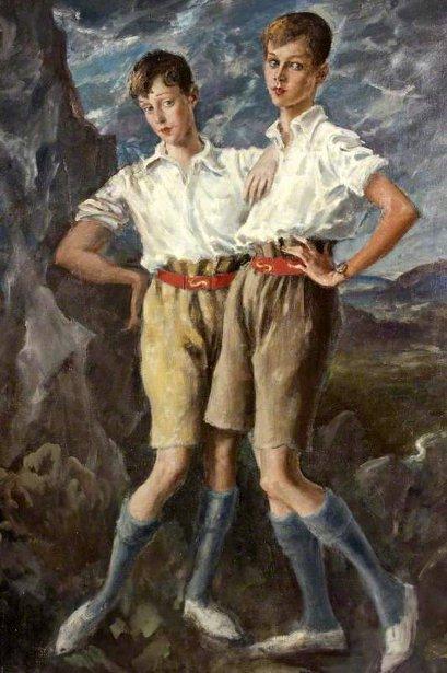 Thomas Francis Jeune And Hanmer Cecil Hanbury