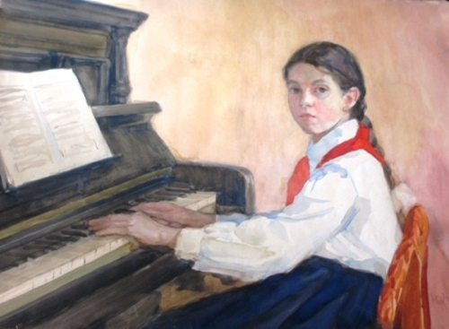 A Young Pianist