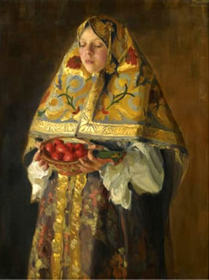 A Young Russian Girl