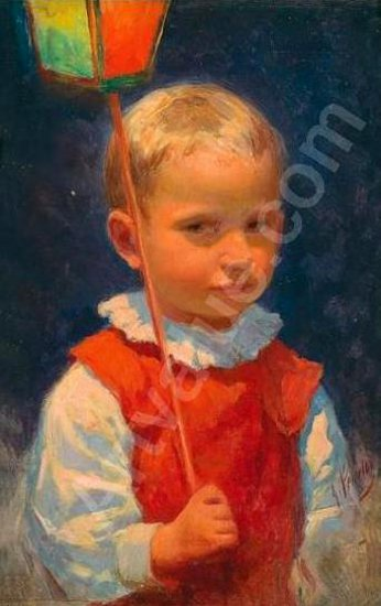 Boy With Lamp