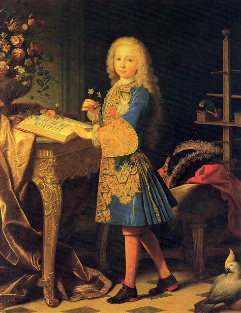 Charles III Of Spain As A Child