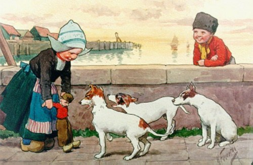 Children On A Quay, Volendam