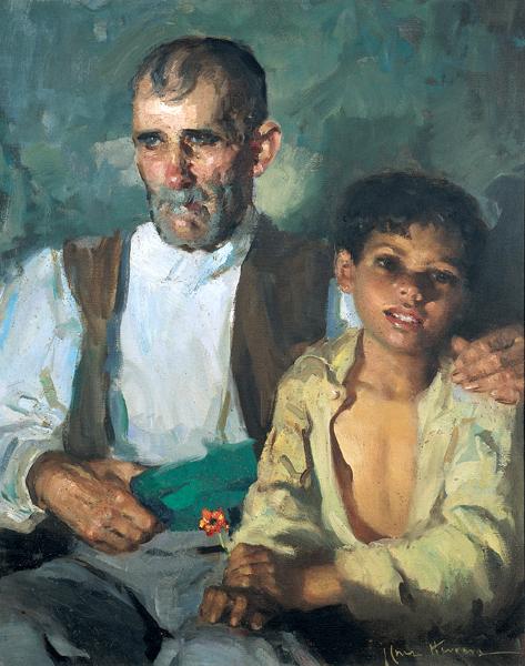 El abuelo y el nino