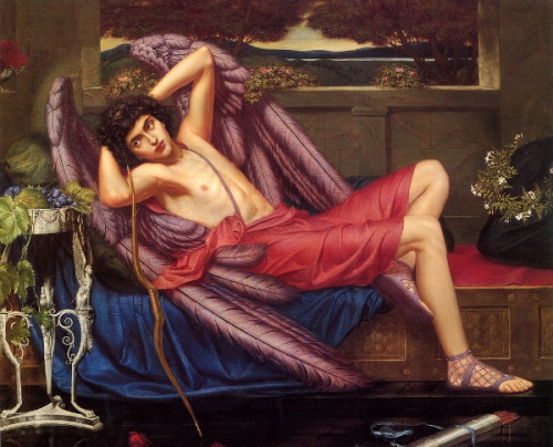 Eros - Love In Idleness, 1900