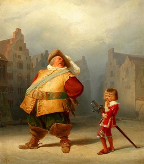 Falstaff e il suo paggio