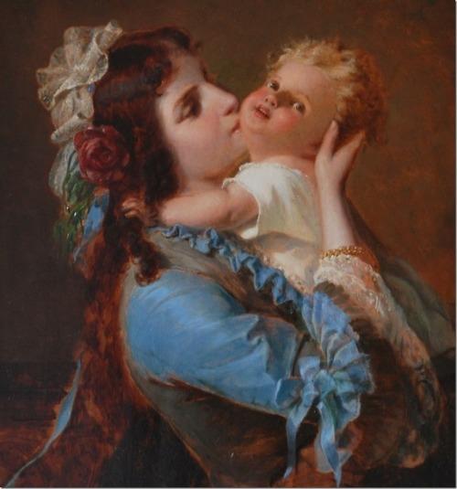 Friedrich A. Hornemann - Mother And Child