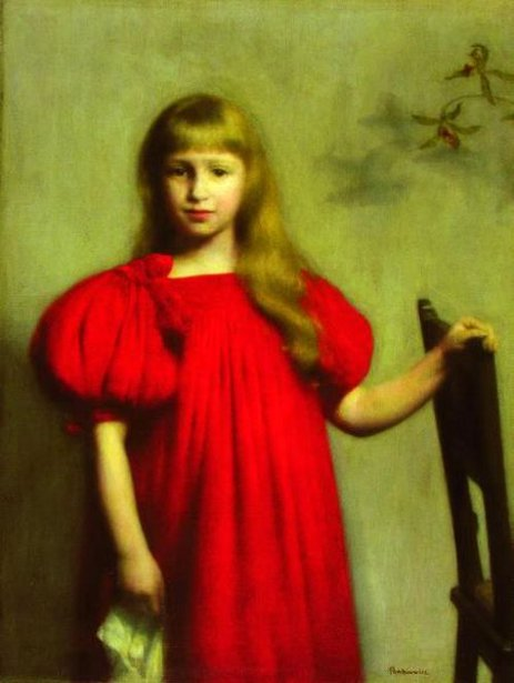 Girl In A Red Dress (Jozefa Oderfeldowna)