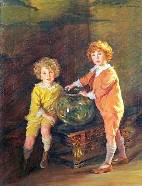 Goldfish, A Portrait Of Roland And Peter Hazard