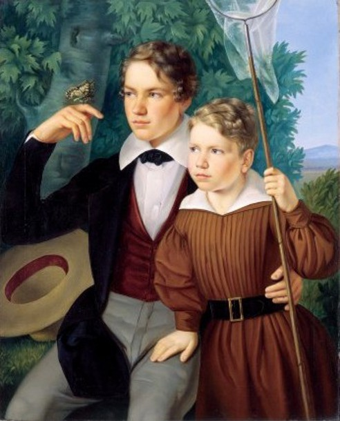 Johannes And Wilhelm Leonhard Bernoulli As Children
