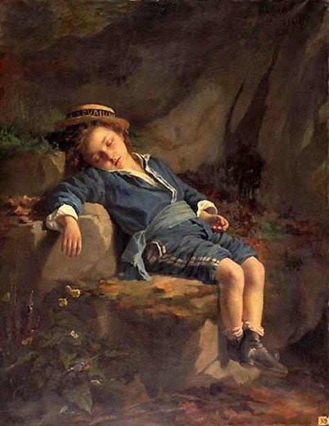 L'enfant fatigué