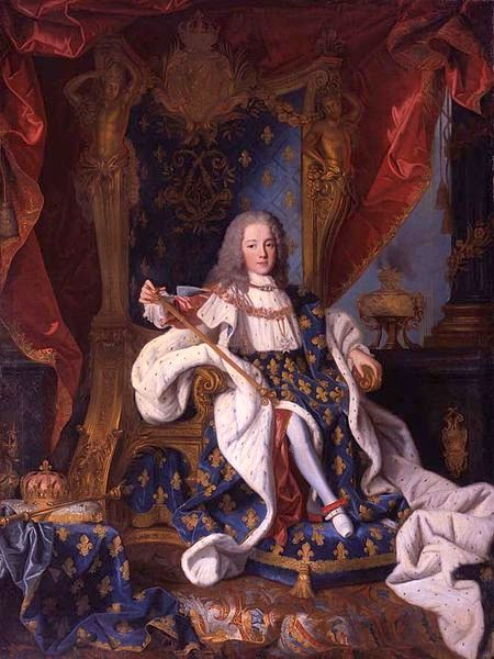 Louis XV As A Child