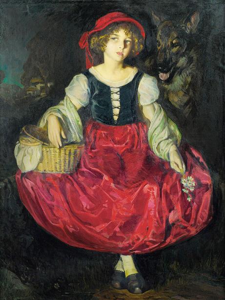 Suzanne en Petit Chaperon Rouge
