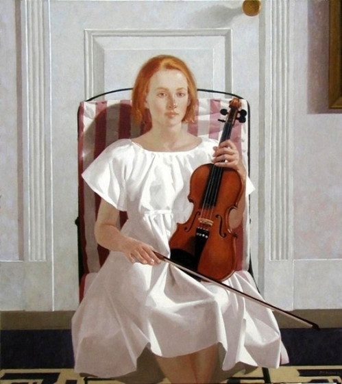 The Violin Pupil