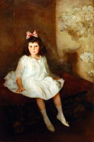 Theodora Thorpe (Portrait Of A Young Girl)