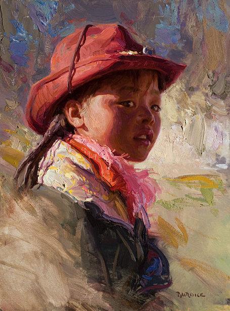 Tibetan Cowgirl