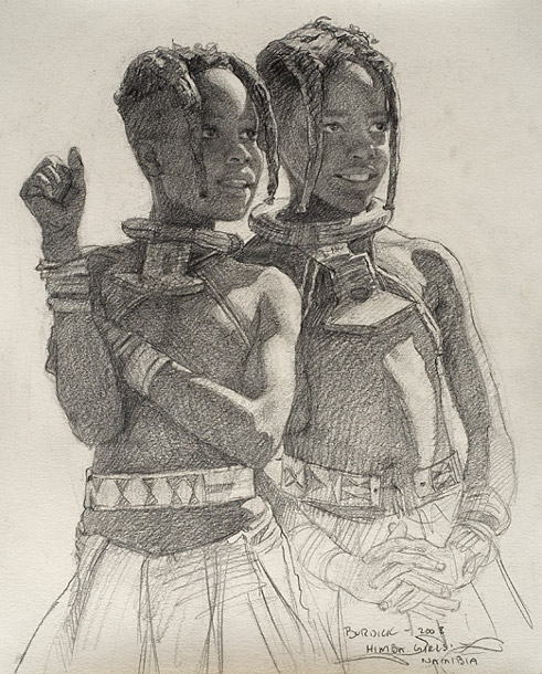 Two Himba Girls
