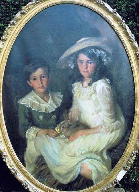 Two Members Of The Cross Family, Newport, Rhode Island