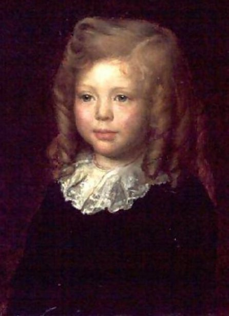 Winston Churchill, aged 4 years old