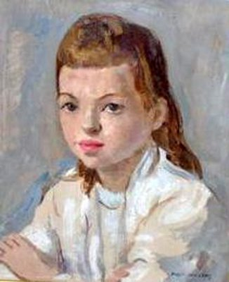 Young Girl Wearing A White Shirt