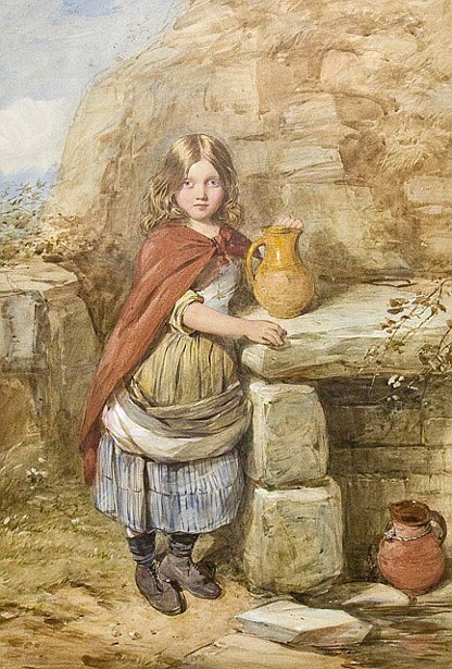 A Young Girl At The Well, Guernsey