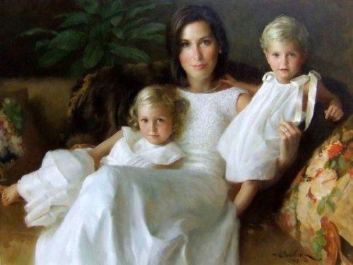 Ashley, Olivia And Lilly Jones