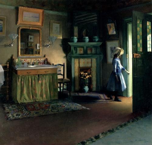 Cabinet de Toilette de Jacques Emile Blanche, 1888