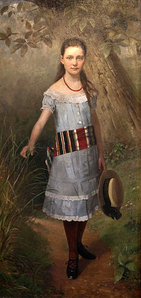 Child Portrait Of Helene Kaemmerer