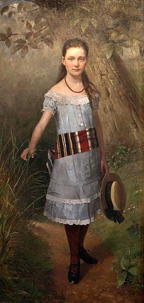Child Portrait Of Helene Kaemmerer