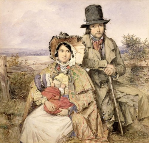 Country Family Of Emigrants