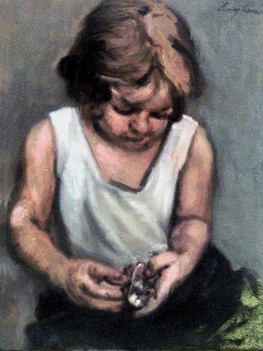 Eugenio con giocattolo
