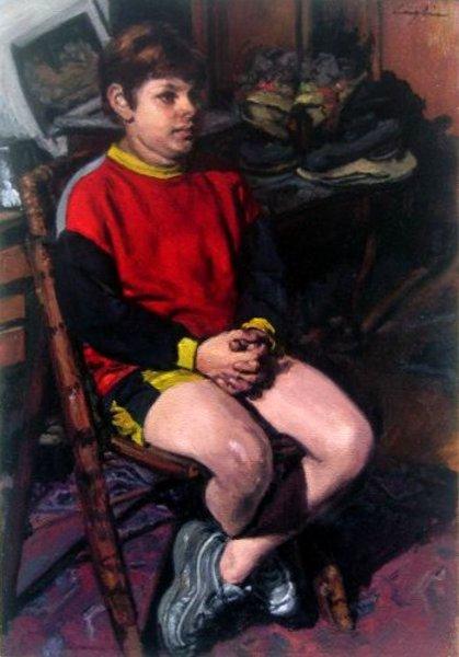 Eugenio seduto