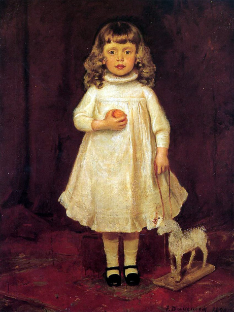 F.B.Duveneck As A Child