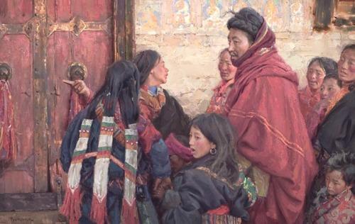 Family Pilgrimage - Lhasa, Tibet