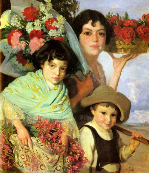 Flower Gatherers