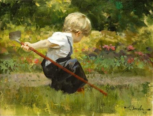 Hoe Down - Boy In The Garden
