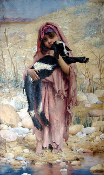 Jeune bergère algérienne