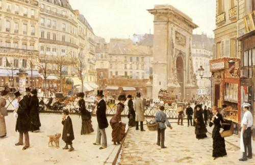 Le Boulevard St. Denis, Paris