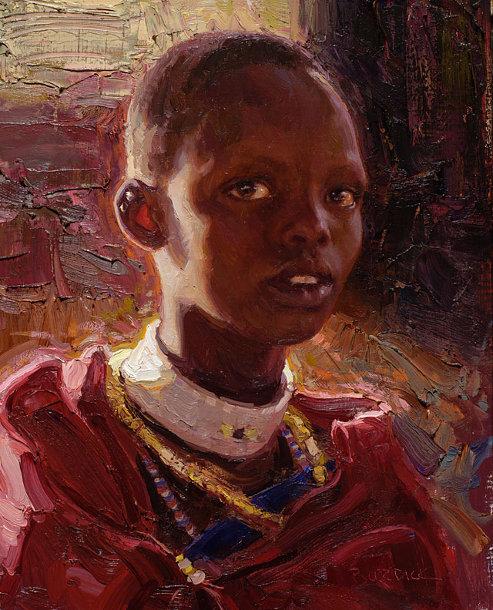 Masaai Girl, Tanzania