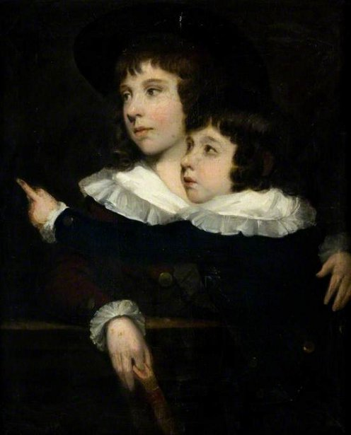 Master Benjamin Smith And His Younger Brother