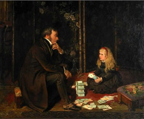 Playing Cards With Father