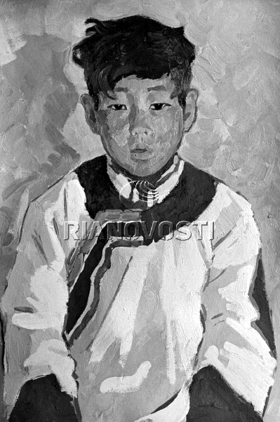 Portrait Of A Young Yakut