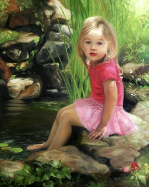 Princess In A Pond