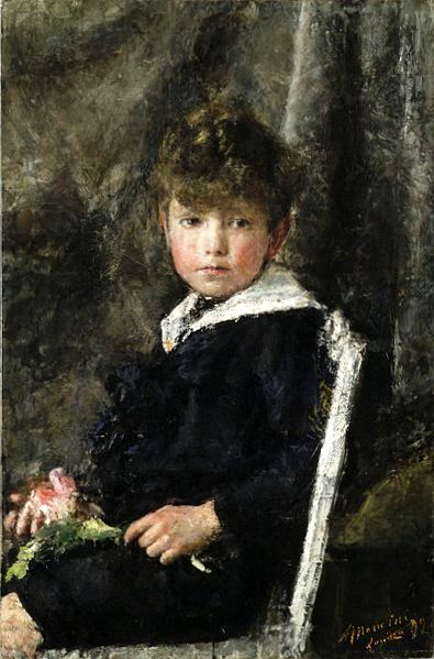 Ragazzo seduto (Seated Boy)
