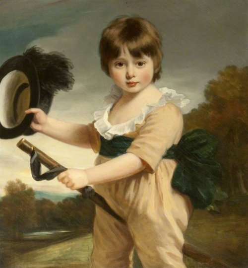 Sir Jacob Astley, 16th Baron Hastings, As A Child With A Hobby Horse