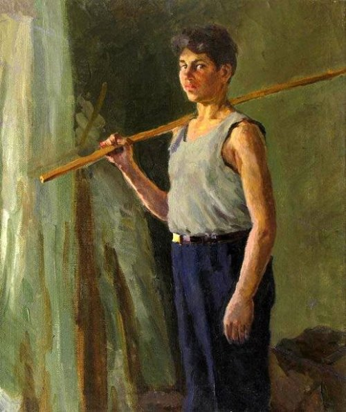 The Boy With A Fishing Rod